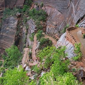Angel's landing trail, Zion