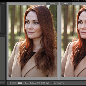Capture One 12 Before and After View