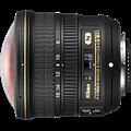 Nikon AF-S Nikkor Fisheye 8-15mm F3.5-4.5E ED