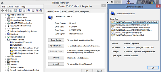 Got EOS Utility to work with Win8: Canon EOS-1D / 5D / 6D