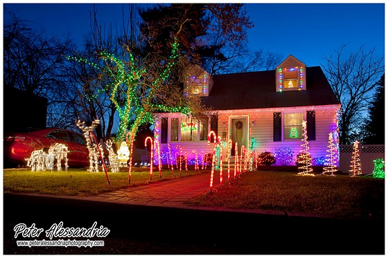 led christmas lights are a bit of pain due to limited color spectrum and specularity of the light i shot raw bracketed three shots probably only used