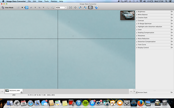 sony raw converter mac