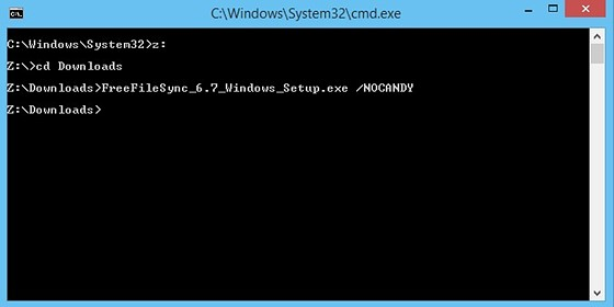 Or, use the /NOCANDY option from cmd line    : PC Talk Forum