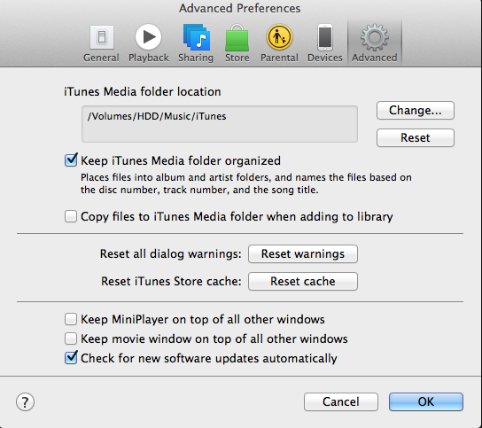 How to transfer iTunes library to another computer