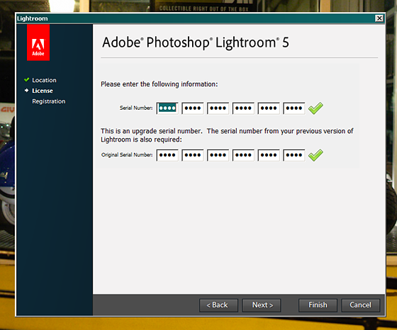 adobe lightroom 5.7 1 license key