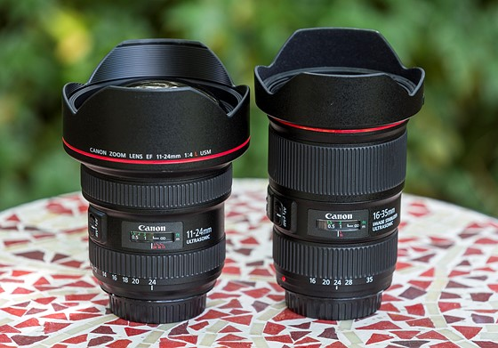 Canon 16-35 f/4L IS vs  Canon 11-24 f/4L (revisited): Canon SLR Lens