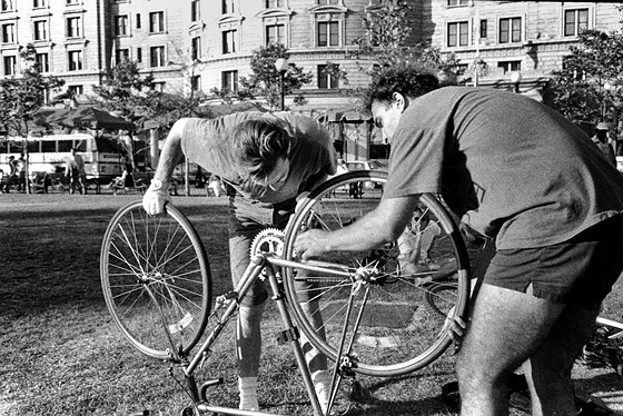 Re: Zen and the Art of Bicycle Repair: Documentary and