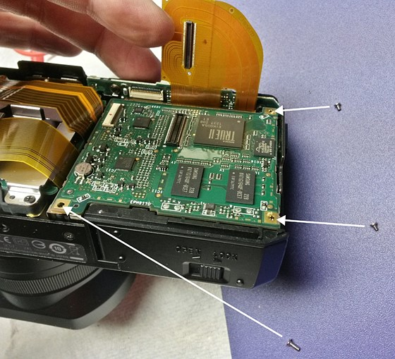 re disassembly of dp1m remove circuit boards sigma camera talk