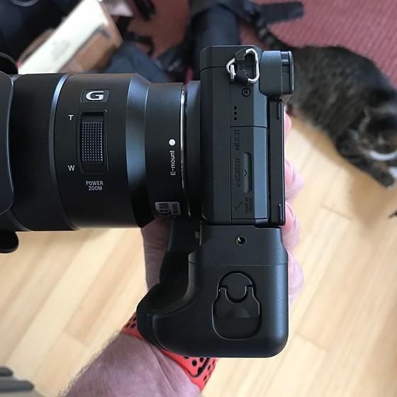 A6500 Battery Grip Sony Alpha Nex E Mount Aps C Talk