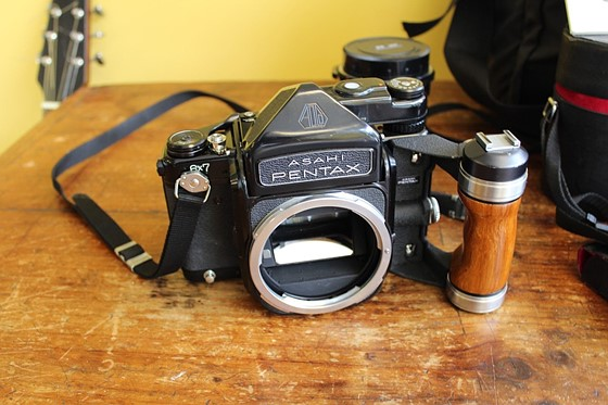 FS: Pentax 6x7 W/Metered Prism, 2 lenses & 2X Converter (AS IS/Great