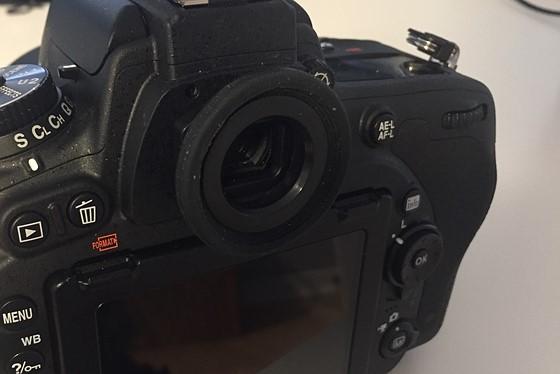 Nikon D750 Round eyepiece: Nikon FX SLR (DF, D1-D5, D600