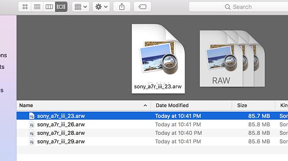 open raw file in photoshop mac