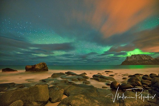 Norway northern lights landscape and travel photography forum the nights were cloudy 6 out of 7 days i was there on my last night the sky finally cleared and i was able to see northern lights mozeypictures Choice Image