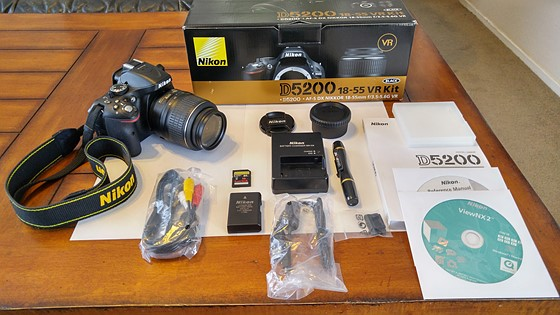Nikon D5200 Kit W Nikon 18 55 Vr Lens Extras For Sale And Wanted Forum Digital Photography Review