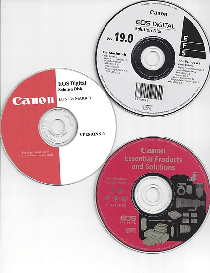 Re: Need old version of Canon EOS Utility  Can anyone help