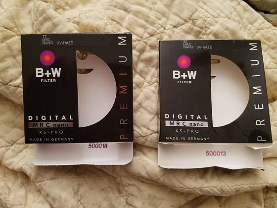 Fake B+W UV filter?: Accessories Talk Forum: Digital Photography Review