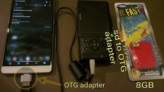 Backup your camera to your Android phone: Android Talk Forum