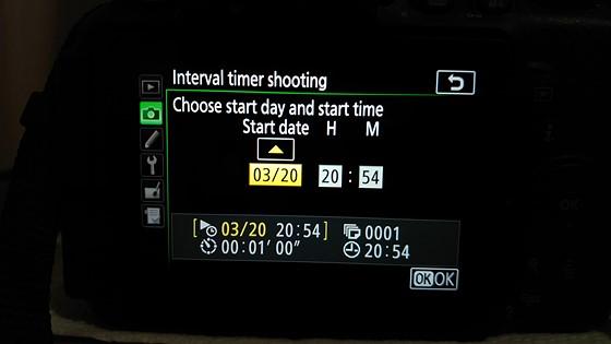 Re: D5600 and the Intervalometer: Nikon DX SLR (D40-D90