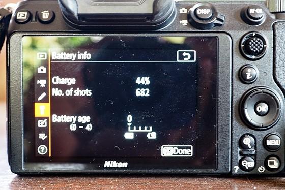 Re: Battery life with Z7: Nikon Z Mirrorless Talk Forum