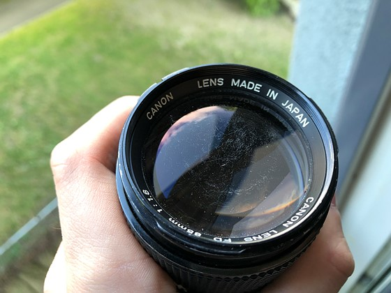 Does my lens have fungus or scratches?: Canon SLR Lens Talk