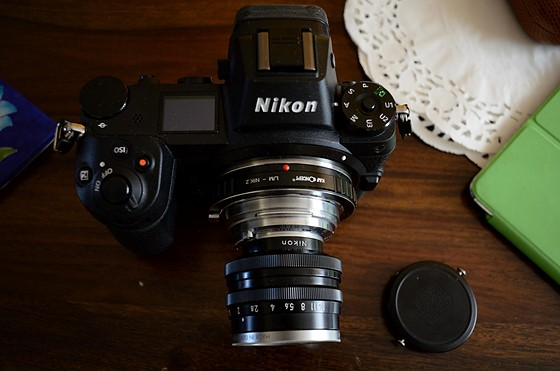Nikkor 50mm f1 4 rangefinder on Z6: Nikon Z Mirrorless Talk