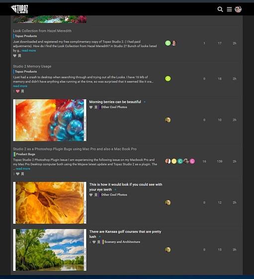 Re: Topaz Studio 2: Retouching Forum: Digital Photography Review