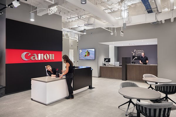 Canon opens its 'most advanced' service & support center yet