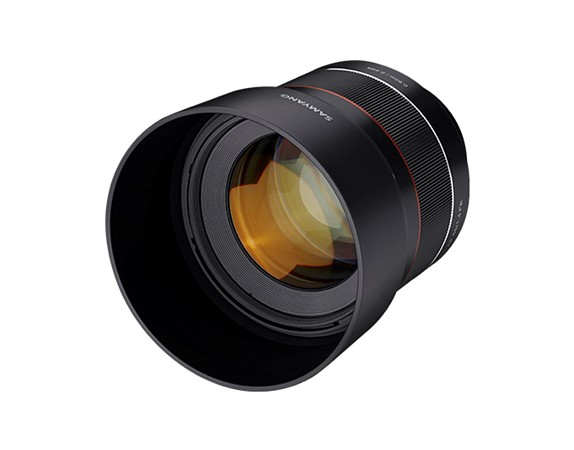 Samyang has announced the AF 85mm F1 4 FE lens for full-frame Sony