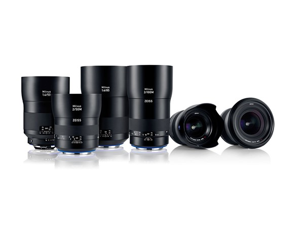 Zeiss introduces high-resolution Milvus SLR lens family with six