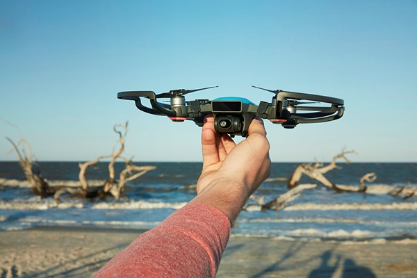 DJI Unveiled The Spark Mini Drone This Morning An Entry Level Product Aimed At Casual Users And Enthusiasts It Is Capable Of 1080p HD Video Capture