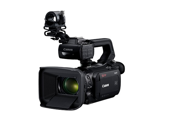 Canon launches four new 4K / 30p professional camcorders in XA range
