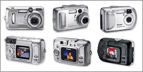 Kodak introduce three new digital cameras: Digital