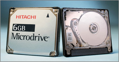 Hitachi 6GB Microdrive Sells For Just 299
