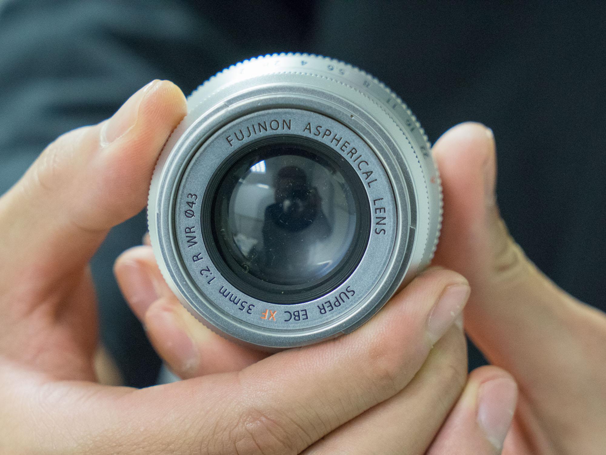 CP+ 2015: Fujifilm shows prototype roadmap lenses: Digital