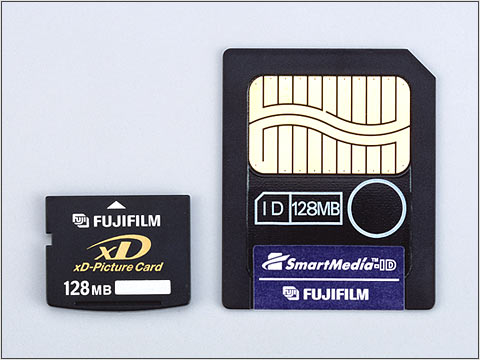 Fujifilm announce xd picture card digital photography review for Carte xd darty