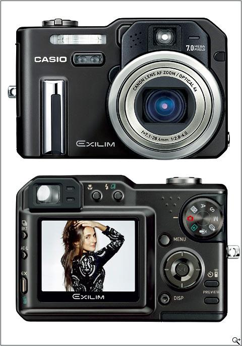 casio exilim pro ex p700 digital photography review rh dpreview com Digital Cameras Casio Instruction Manual Casio Exilim Digital Camera