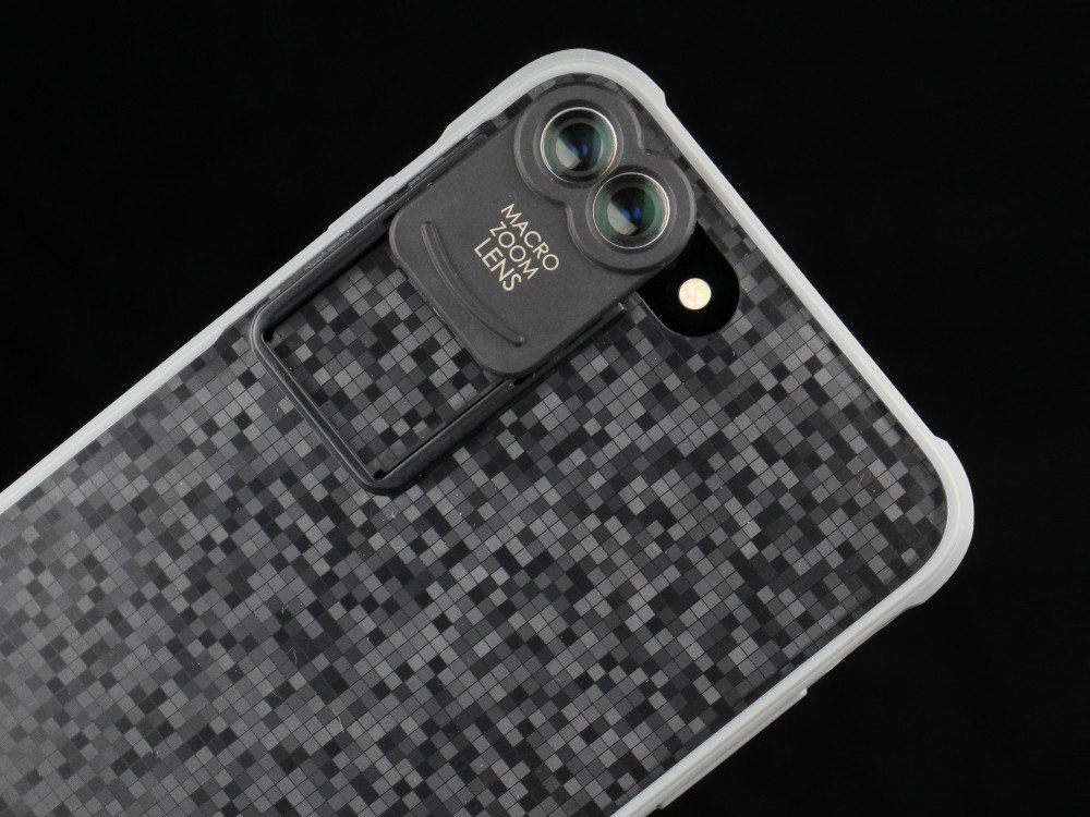 timeless design 07948 e65f9 Kamerar ZOOM is a lens attachment for the iPhone 7 Plus dual-camera ...