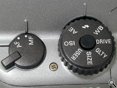 Left side controls