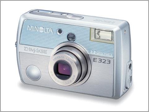 minolta introduces the new dimage e323 digital camera - Minolta Digital Camera
