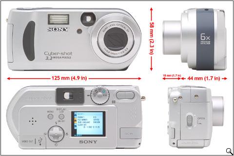 Sony DSC-P71 Review