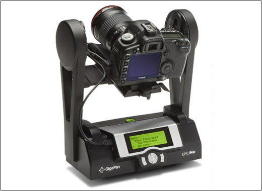 Gigapan announces epic pro motorized panorama head for Motorized video camera mount