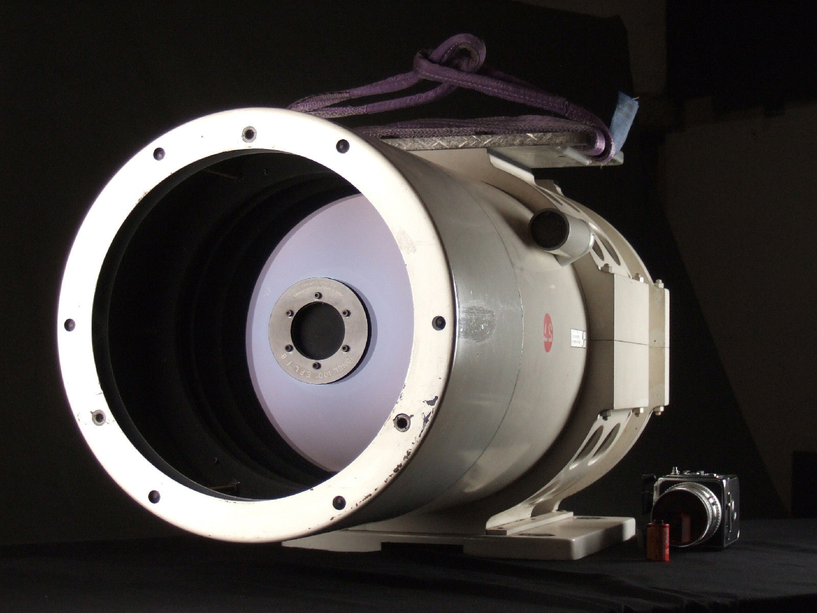 Massive $33,500 2450mm f/8 NASA lens surfaces on eBay
