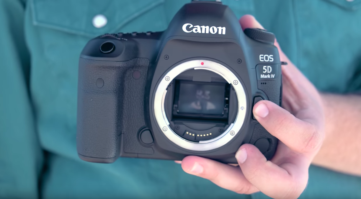 Video Getting Our Hands Dirty With The Canon Eos 5d Mark Iv Body Only Camera Dslr 4 Digital Photography Review