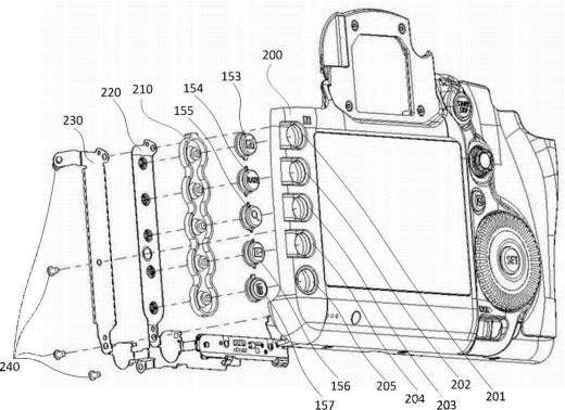Canon Illuminated Buttons Patent Hints At Future Prosumer Dslr