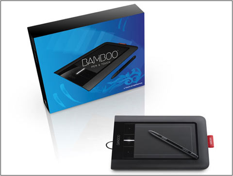 how to set up bamboo wacom tablet