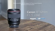 Canon RF 50mm F1.2L USM product overview