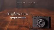 Fujifilm X-E4 overview