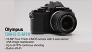 Olympus OM-D E-M10 Product Overview