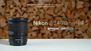 Nikon Nikkor Z 24-70mm F4 S product overview