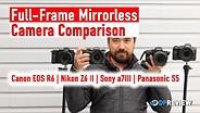 最佳中档全框架无镜:佳能R6,索尼A7 III,尼康Z6 II,松下S5gydF4y2Ba